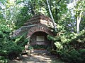 Warsaw Uniwersity Botanical Garden świątynia opatrzności.jpg