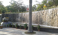 Waterfall at Jardim Municipal Dr. Sun Yat Sen.jpg