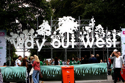 Entrance to the Way Out West Festival Way out west-entrance.jpg
