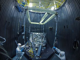 MIRI (Mid-Infrared Instrument) - MIRI's cooling system being tested