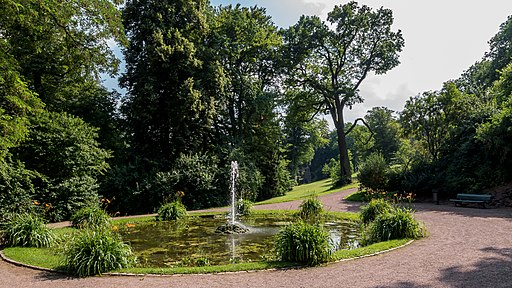 Weimar Schlosspark Belvedere Grosse Fontäne 2