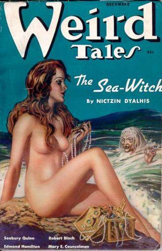 Virgil Finlay -  Finlay cover, Weird Tales, December 1937