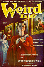 Weird Tales cover image for May 1943