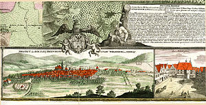 Free imperial city - Weissenburg-im-Nordgau in 1725