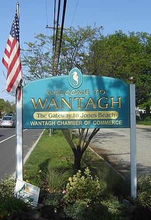 Wantagh, New York - Image: Welcome to Wantagh Sign 1