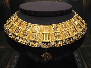Jean Le Fèvre de Saint-Remy - Potence or Neck Collar worn by the King of Arms to the Order of the Golden Fleece