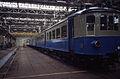 Werkplaats Mechelen 1985 eerste treinstel restauratie II.jpg