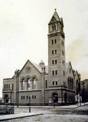 Henry Franklin Kilburn - Image: West End Presbyterian Church (New York City, photo 1893), designed by Henry F. Kilburn