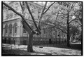 West elevation - New York City Hall, City Hall Park, New York, New York County, NY HABS NY,31-NEYO,91-3.tif