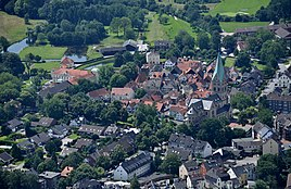 Westerholt from a height of approx. 600 m