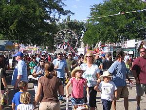 Western Idaho Fair - Patrons of the 2009 Western Idaho Fair.