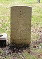 Weston (John Albert) CWGC gravestone, Flaybrick Memorial Gardens.jpg