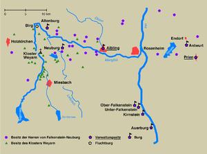 Counts of Falkenstein (Bavaria) - Image: Weyarn und falkensteiner
