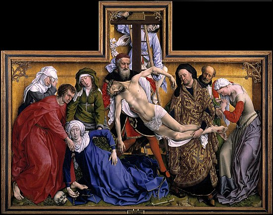 Image result for roger van der weiden death of jesus