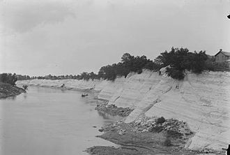 Demopolis, Alabama - White Bluff at Demopolis in 1903.