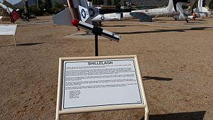 MGM-51 Shillelagh - White Sands Missile Range Museum Shillelagh display