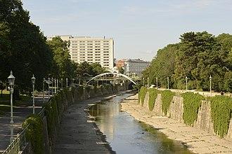 Wien (river) - The Wien in the Stadtpark