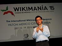 Wikimanía 2015 - Day 4 - Luis von Ahn conference - LMM (37).jpg