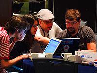 Wikimanía 2015 - Hackaton Day 1 - LMM - México D.F. (10).jpg