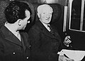 William Beveridge and de Kimoularia, 1947.jpg