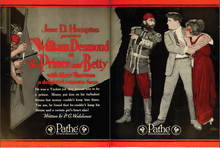 William Desmond The Prince and Betty 1 Film Daily 1919.png
