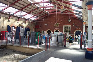Windsor & Eton Riverside railway station - Image: Windsor and Eton Riverside railway station 2