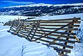 Winter Park Colorado - weathered snow fences - (13843177615).jpg