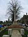 Witney War Memorial, Church Green, Witney - geograph.org.uk - 303726.jpg