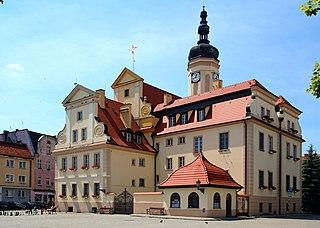 Wołów Place in Lower Silesian, Poland