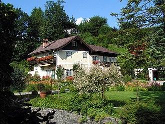 Henndorf am Wallersee - Image: Wohnhaus Carl Zuckmayer in Henndorf