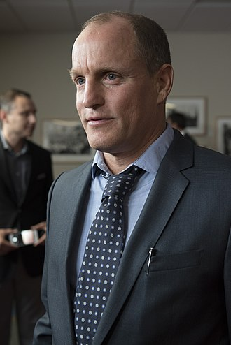 LBJ (film) - Harrelson talks to the media before a screening of LBJ at the LBJ Presidential Library