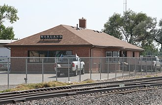 Worland, Wyoming - Worland Station, August 2017