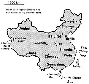 World Factbook (1990) China.jpg