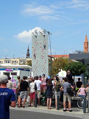 2017 World Games - Sport climbing during World Games in Wrocław.