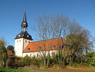 Westfeld - Image: Wrisbergholzen Igreja 1