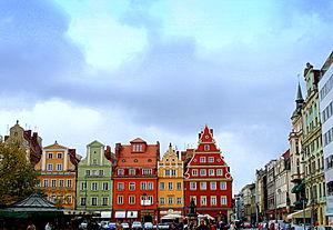 Wrocław, plac Solny - 13.10.2009 r.DSC09981