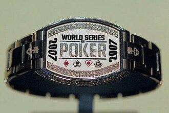 2007 World Series of Poker - The 2007 WSOP Championship Bracelet