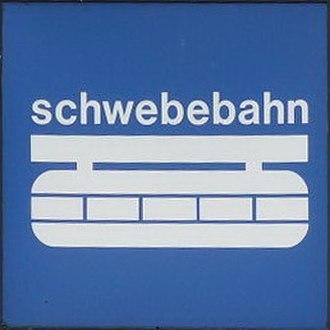 Wuppertal Suspension Railway - Railway logo