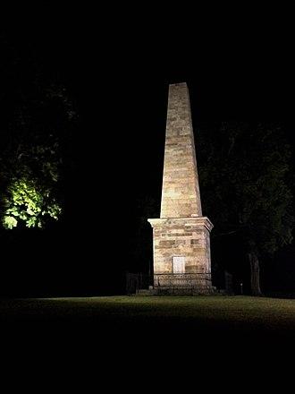 Wyoming Monument - Image: Wyoming Battle Monument