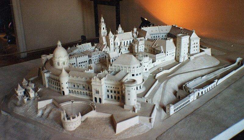 Projet Akropolis pour la reconstruction de Wawel par Wyspinaski - Photo de Robert Schediwy
