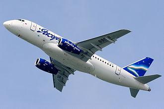 Yakutia Airlines - Sukhoi Superjet 100/95