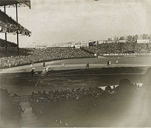 1927 New York Yankees season - Yankee Stadium in 1927.