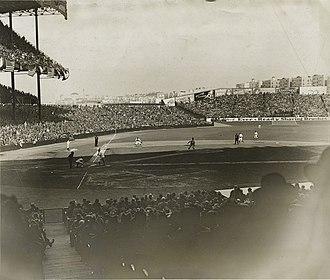 1927 New York Yankees season - Yankee Stadium in 1927.