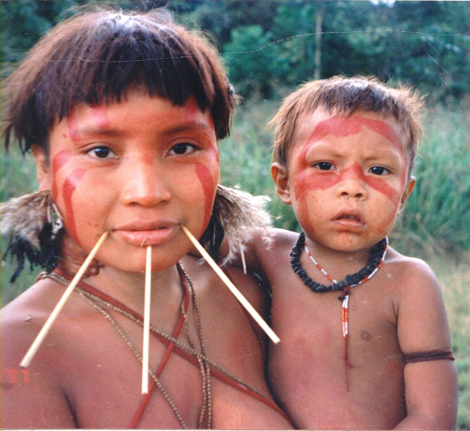 Yanomami Woman %26 Child