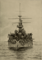 Yashima (ship, 1897) - Bow View - Cassier's 1898-02.png