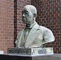 Yasuke Iwase statue in Nishio City Iwase Bunko ac.jpg