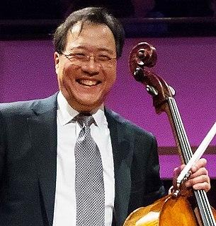 Yo-Yo Ma American cellist