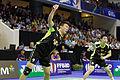 Yonex IFB 2013 - Quarterfinal - Liu Xiaolong - Qiu Zihan vs Mathias Boe - Carsten Mogensen 20.jpg