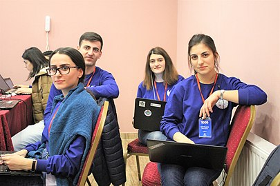 Youth Winter WikiCamp 2019, Tsaghkadzor, Wikimedia Armenia 03.jpg
