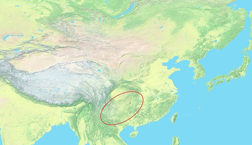 Yungui map